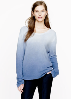 The Elder Statesman Blurred Cashmere Sweater $398.00