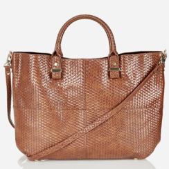 Topshop Faux Leather Tote $72.00 www.nordstroms.com