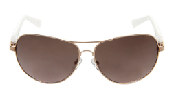 Vince Camuto Rose Gold & White Sunglasses $80.00