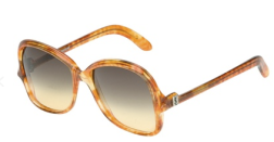 Yves Saint Laurent Vintage Oversize Square Frame Sunglasses $249.29 farfetch.com