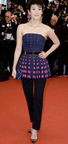 Zhang Ziyi in Dior Haute Couture