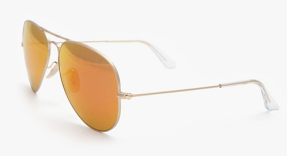 Ray Ban Aviator Sunglasses $160.00 intermix.com