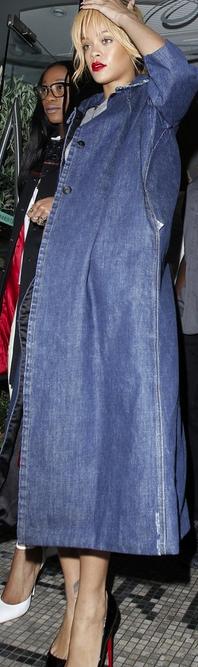 Rihanna's Miu Miu Coat