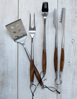 Schmidt Brotheres Grill Tool Set $79.95 on sale for $49.99 westelm.com