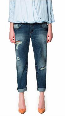 Zara Slim Boyfriend Jeans $59.90