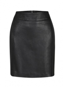 Diablo Leather Mini Skirt $401.00 on sale for $203.00