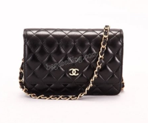 Faux Chanel 2.55 Leather Handbag $188.00