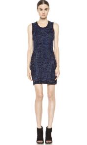 Rag & Bone Alicia Dress In Blue $395.00