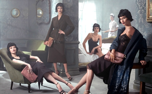 Louis Vuitton Fall/Winter Ad Campaign 2013