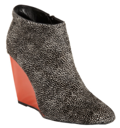 Pierre Hardy Ponyhair Wedge Ankle Boot $1165.00 Barneys