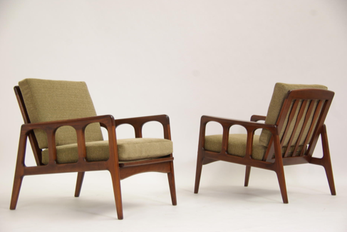 Mid Century Modern Lounge Chairs From Vintage Supply $550.00