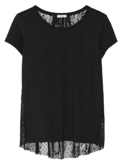Clu Lace And Jersey Top $170.00 Net-a-Porter