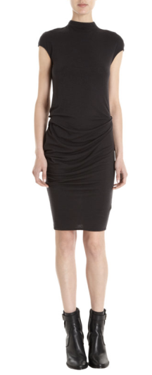 Helmet Fitted High Neck Dress $195.00 Barneys