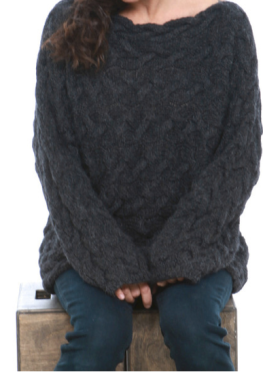 Jess Brown Foggy Day Sweater $495.00