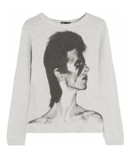 Maje 'Flash' David Bowie Sweatshirt $210.00