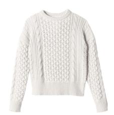 Rebecca Taylor Dolman Sleeve Crop Knit