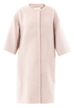 Roksanda Ilincic Collarless Wool Swing Coat $1704.00