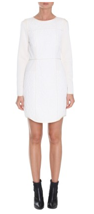 Tibi Katrin Quilted Paneled Dress $575.00