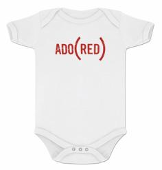 Ado(red) Onesie $18.00