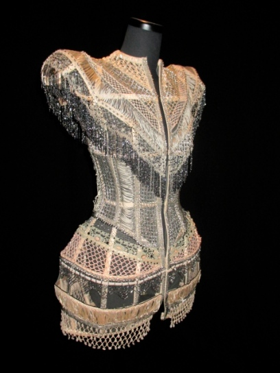 Calligraphy Collection Haute Couture S/S 2009 Beyonce wore this dress at a 2009 concert at the Wynn in Las Vegas