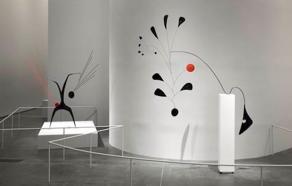 Instalation Photograph Alexander Calder