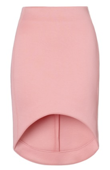 Josh Goot Bubblegum Cut-Away Scuba Skirt $610.00 Avenue 32