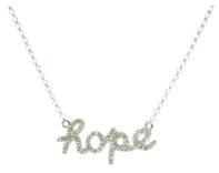 Sugar Bean Hope Diamond Necklace $499.00