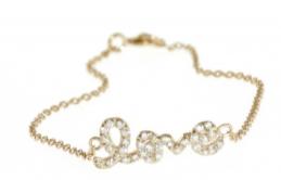 Sugar Bean Love Bracelet $70.00 14K Rose Gold