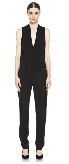 A.L.C  Black Crepe Jumpsuit $693.00 on sale for $451.00 Elyse Walker