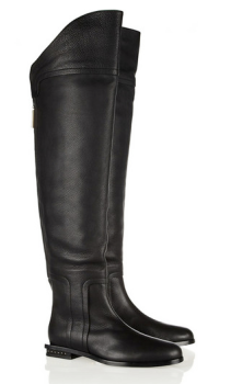 Maiyet Textured-Leather Over-The-Knee Boot $1195.00 on sale for $717.00 Net-a-Porter