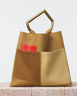 Celine Nutmeg Geometrical Bag $2490.00