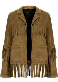 Fringed Suede Jacket  $378.00
