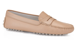 Tod's Gommino Driving Shoes In Leather $425.00