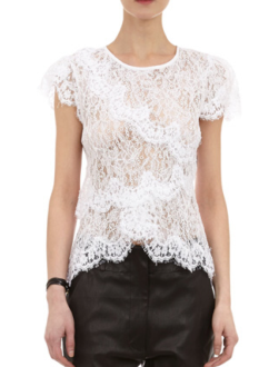 Isabel Marant Milo Lacy Top $895.00