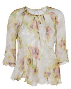 Isabel Marant Yellow Rodd Blouse $800.00 Elyse Walker