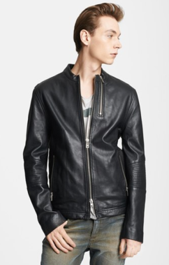 Zadig & Voltaire Leather Moto Jacket $930.00