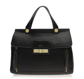 Nine West Black Rangles Satchel Bag $125.00 Kurt Geiger