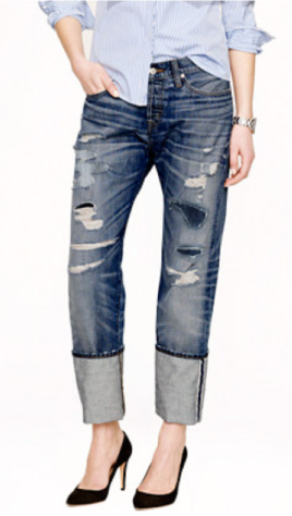 Point Sur Slim Stacker Selvedge Jean $288 J Crew