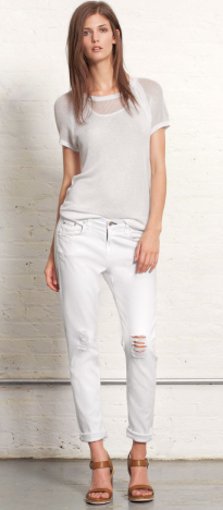 Rag & Bone The Dash Tattered Slouchy Jean $145.00