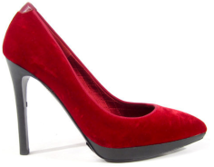 Tom Ford Red Velvet Pump