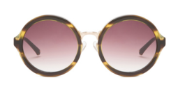 3.1 Phillip Lim Circle Sunglasss in Tiger Eye $220 Elyse Walker