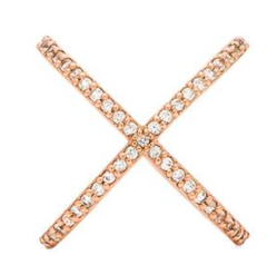 Alex Mika Cris Cross Ring $106.00