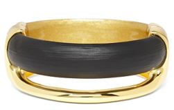 Alexis Bittar Lucite Liquid Metal Bangle $245.00