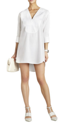 BCBG Braelyn Shirt Dress $198.00 on sale for $99.00