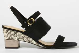 Charles & Keith Open Toe Heels $66.00