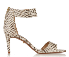 Diane Von Furstenburg Kinder Snake-Effect Leather Sandals $350.00