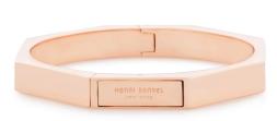 Henri Bendel Hex Metal Bangle $128.00
