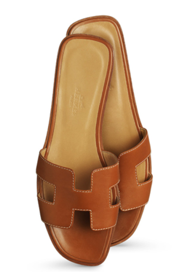 Herems Oran Box Leather Sandals