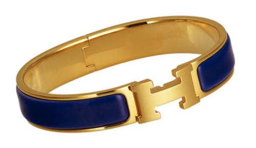 Hermes Clic H Enamal Bracelet $650.00