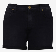 J Brand Black Cuffed Short on sale